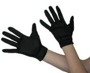 Adult Mens Scream Style Short Black Gloves