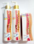 Genive Shampoo & Conditioner and serum helps hair grow longer