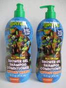 Teenage Mutant Ninja Turtles All in One Shower Gel, Shampoo, Conditioner Mutant Mango