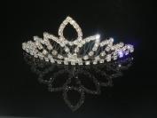 Wedding Crown, Bridal Tiara Rhinestone Crystal Crown C14
