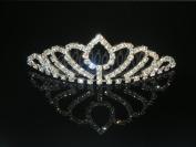 Wedding Crown, Bridal Tiara Rhinestone Crystal Crown C8