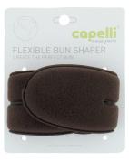 Capelli New York Flexible Bun Shaper Brown