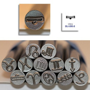 Kent 9.0mm LIBRA Zodiac Symbol Metal Punch Stamps, Sold Individually