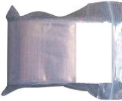 Ziplock 2 X 2 Reclosable White Block Poly Bags Write-on, 2 Mil
