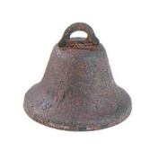 Rusted Bell - 45 mm - 3 pieces