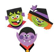 Halloween Magnets Craft Kit