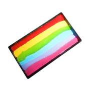 Kryvaline One Stroke Split Cake - Fairy Rainbow
