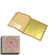 10 X Edible Gold Leaf Sheets Leaves 24 Karat Sss-size 1.5cm X 1.5cm Genuine Authentic for Foods, Cakes & Chocolates, Decoration, Health & Beauty, Home Arts & Crafts, Metal Working, Marketking Brand