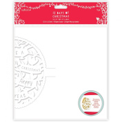 Papermania 12 Days of Christmas Pop-Up Cards, 20cm by 20cm , 4-Pack
