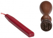 Mason Row SU-68049 Party Card Wax Sealer, Monogram H