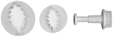 Lisa Pavelka 327085 Embossing Cutter Holly Leaf