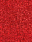 2-Sheets Ripple Holographic Paper Red 22cm x 28cm Scrapbooking Card Making Paper Crafting