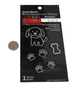 Loverly Dog Paw Family Car Window Vinyl Decal Sticker
