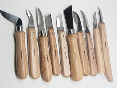 10 Wood Carving Detail Chip Knives Special Edition Signature Series Ramelson