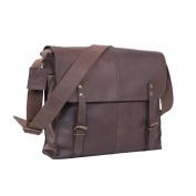 Rothco Shoulder Bag - Leather Medic Bag, Brown