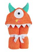 Yikes Twins Hooded Towel Orange Monster