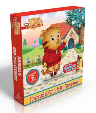 Daniel's Grr-Ific Stories! (Comes with a Tigertastic Growth Chart!): Welcome to the Neighborhood!; Daniel Goes to School; Goodnight, Daniel Tiger; Daniel Visits the Doctor; Daniel's First Sleepover; The Baby Is Here! (Daniel Tiger's Neighborhood)