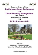 The Proceedings of the 2nd International Conference on Cloud Security Management