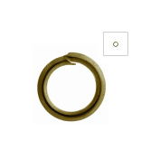 About 690pcs Zacoo Open Jump Rings Shape Round Colour Antique Brass 5x5x0.7 Outside Diameter 5mm
