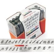 ImpressArt, Script, Metal Letter Stamps, Lowercase