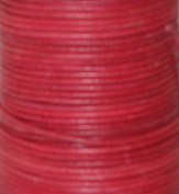 Natural Dye Red Round Leather Cord 1.5mm x 10m BEST VALUE!