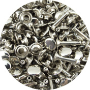 Springfield Leather Company's Nickel Large Extra Long Double Cap Rivets 100pk