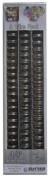Zutter Owire 1.9cm , 6-Piece Silver