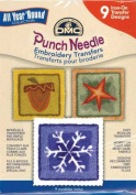 Punch Needle Embrd Transfer Pks-All Year Round