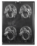 Horseshoe with Horse Chocolate or Soap Mould