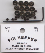 48 Locking Pin Keepers For Hat Lapel Vest