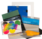 Complete Screen Printing Starter Kit with Speedball Primary Fabric Inks by EZScreenPrint