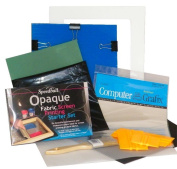 Complete Screen Printing Starter Kit with Speedball Opaque Fabric Inks by EZScreenPrint