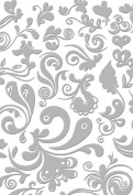 Serenity Collection -DAMASK 5x7 - Embossing Folder