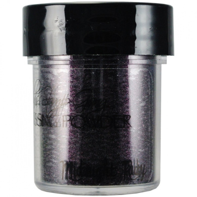 Lindy's Stamp Gang 2-Tone Embossing Powder, 15ml, Midnight Ruby Obsidian