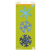 Accuquilt GO! Cutting Die Snowflakes 18cm
