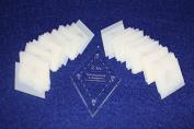 Mylar 5.1cm Diamonds 51 Piece Set - Quilting / Sewing Templates