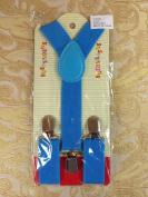 Super Cute Kids Baby Blue Suspenders Adjustable Fashion