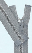 41cm Vislon Zipper ~ YKK #5 Moulded Plastic ~ Separating - 578 Medium Grey