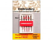 Klasse' Embroidery Needles Size 75/11