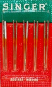 Singer Serger Ball Point Needles - size 12 - 2054 - 10pk