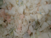 2.3kg of New Shredded Memory Foam Fill for Pillows, Bean Bags / Chairs, Dog Beds, Cushions