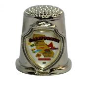 Souvenir Thimble - California - CA