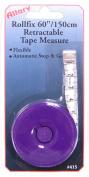 Allary Rollfix 150cm /150-Centimetre Retractable Tape Measure, Various Colours