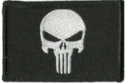 Punisher Tactical Patch - Black by Gadsden and Culpeper