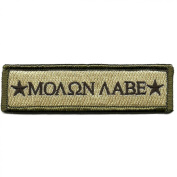 Molon Labe Morale Tactical Patch - Multitan by Gadsden and Culpeper