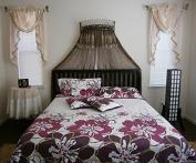 5pcs Reversible Quilts Bedspread Bed Coverlet Set (King/CalKing