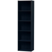 Home Source Industries US3143 BLACK 5-Cube Utility Cabinet, Black