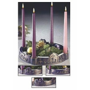 "Abbey Press ""Journey to Bethlehem"" Advent Wreath - Christian Home Kitchen Gift 33618K-ABBEY"
