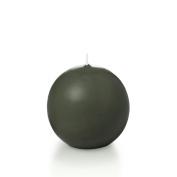 Yummi 7.1cm Olive Sphere / Ball Candles - 3 per pack
