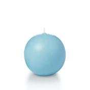 7.1cm Caribbean Blue Sphere / Ball Candles - 3 per pack